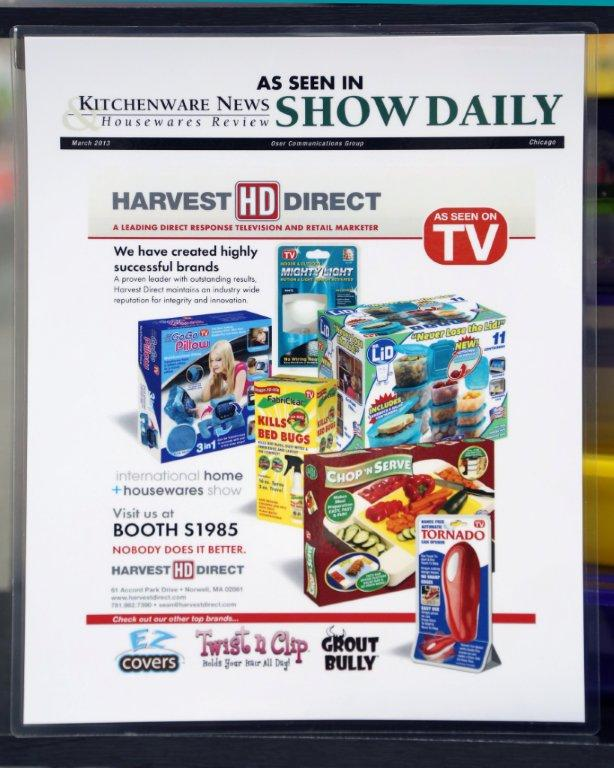 Innovation Direct™ Presents Visuals of the Chop N Serve Coming Out Party at International Home and Housewares Show 2013!